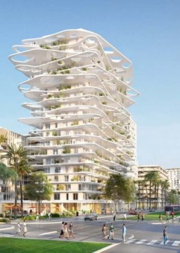 The Future District of La Joia Designs Nice in the 21st century