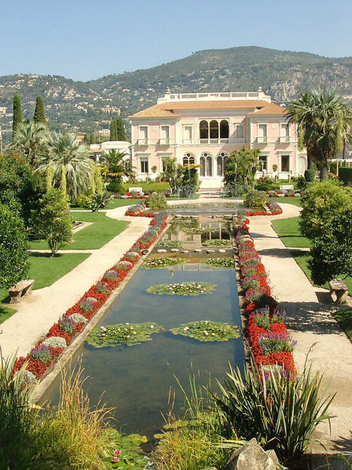Villa et jardins ephrussi de rothschild museums and for Jardin villa rothschild