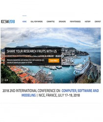 iccsm-2018-2nd-international-conference-on-computer-software-and-modeling