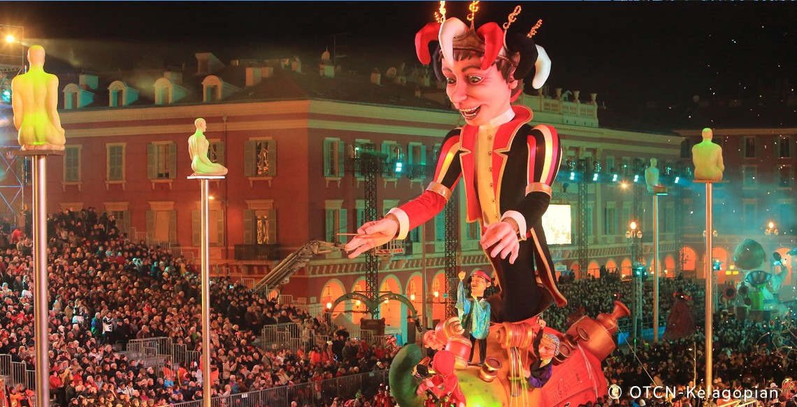 Float of Carnaval - Nice French Riviera